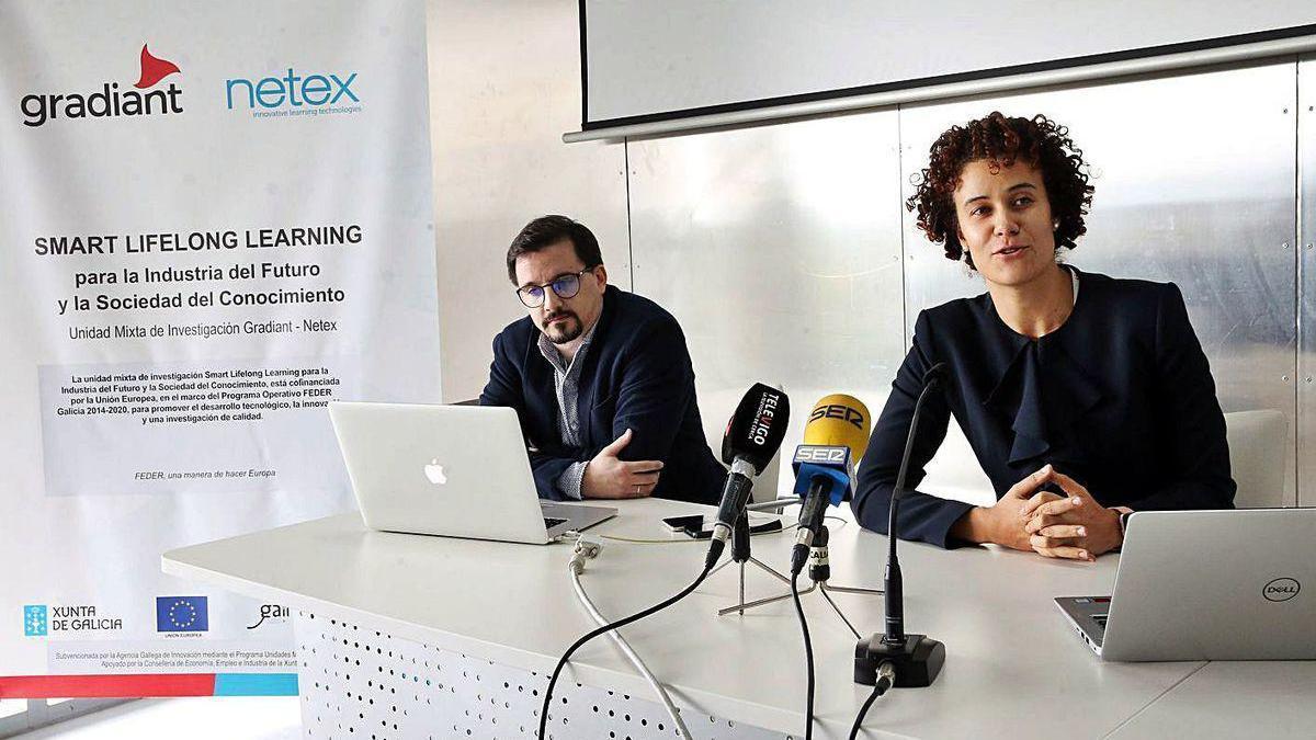 Presentación de un proyecto de estrategia inteligente de aprendizaje de Netex y Gradiant.