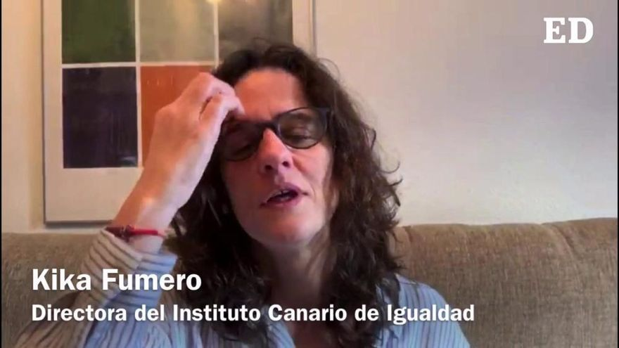 Coronavirus en Canarias | Kika Fumero agradece a India Martínez la difusión de 'Mascarilla - 19'