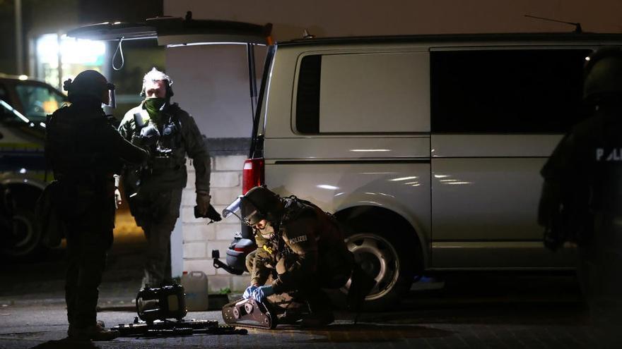 Al menos once muertos en un tiroteo en la ciudad alemana de Hanau
