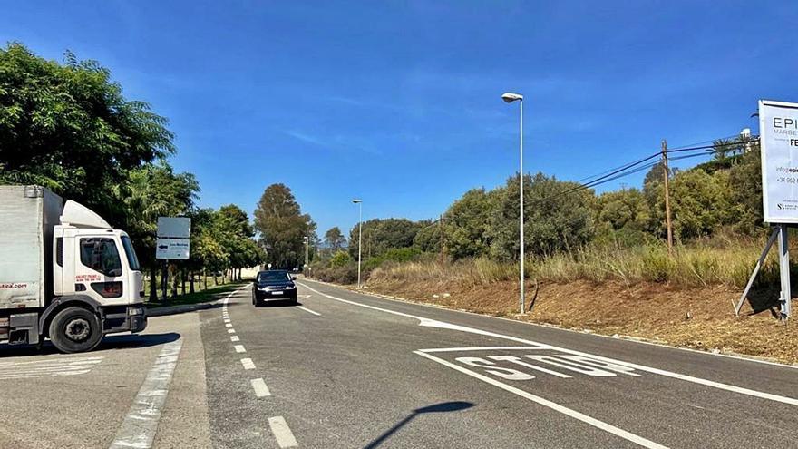 Buscan acuerdos con propietarios de suelo para ampliar la carretera de Istán
