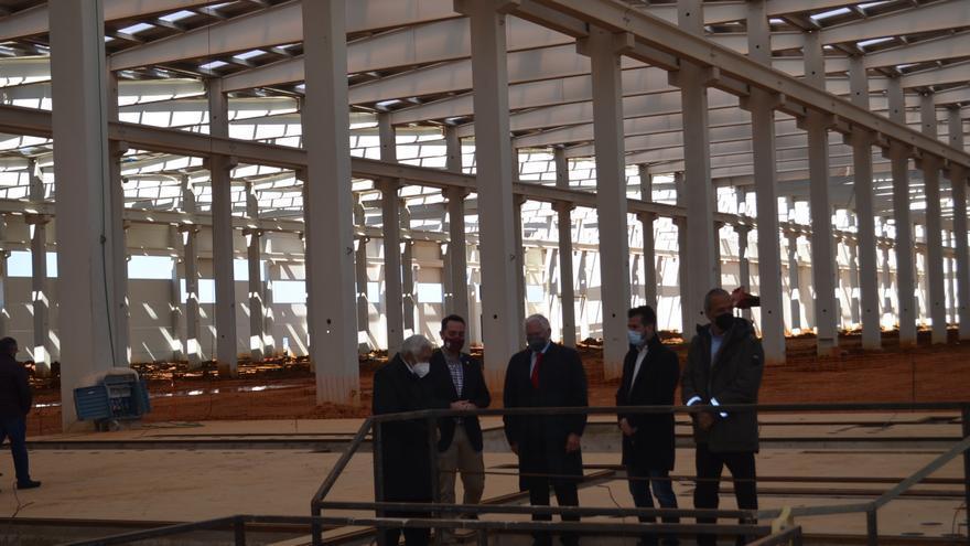 Tudanca pide a la Junta y al Gobierno financiación para la planta de aluminio de Villabrázaro dentro de los fondos europeos