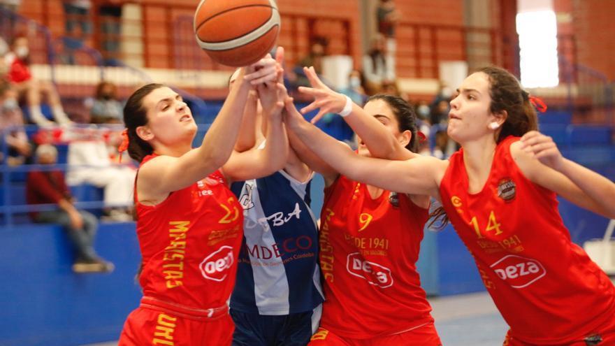 ADEBA - MARISTAS, segundo partido de la final júnior femenina de baloncesto