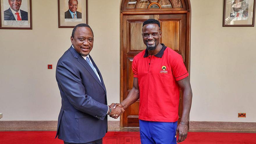 Candidato Mariga: de jugar en el Oviedo a candidato por el Parlamento de Kenia