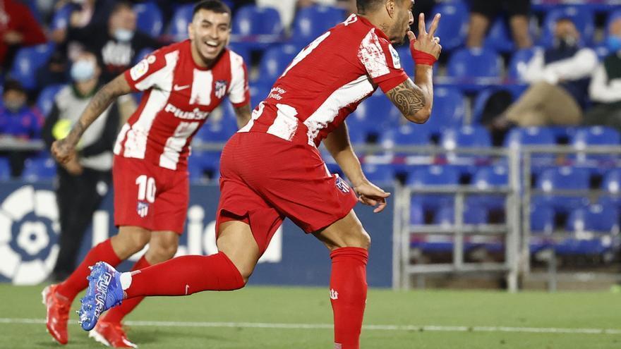 Luis Suárez rescata 'in extremis' al Atlético de Madrid ante el Getafe