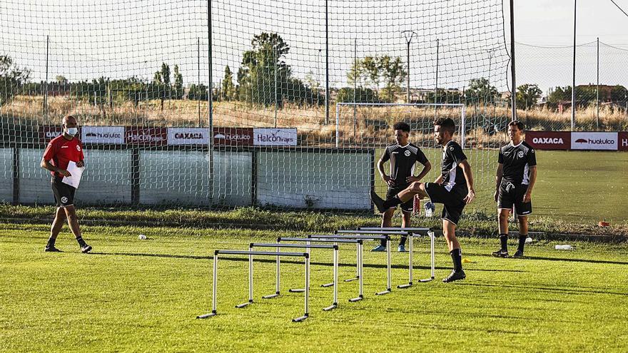 La segunda semana del Zamora CF arranca sin sobresaltos