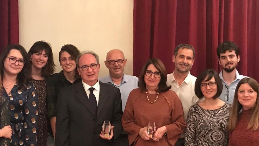 Premio para el grupo del catedrático Nicolás Cuenca por un trabajo sobre distrofias hereditarias de retina