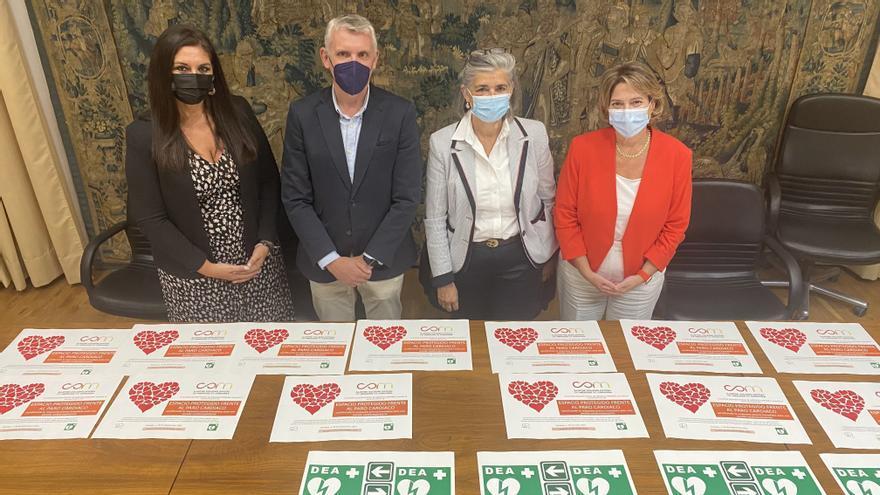 El Colegio de Médicos de Córdoba reconoce a la Fundación Santos Mártires como espacio cardioasegurado