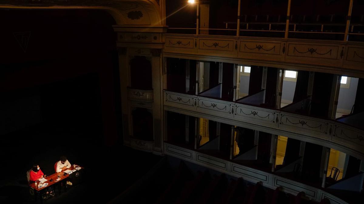 Presentación de la programación del Teatro Principal.