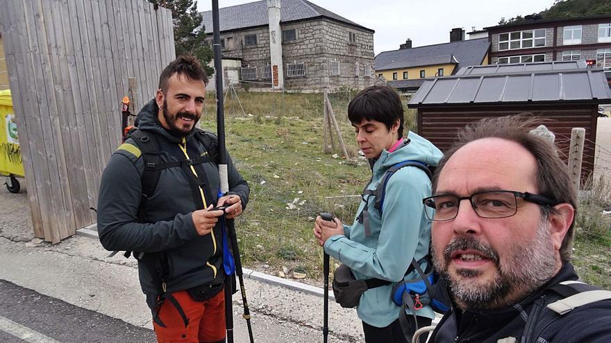 La sanabresa con una discapacidad visual grave que toca el cielo en los Alpes