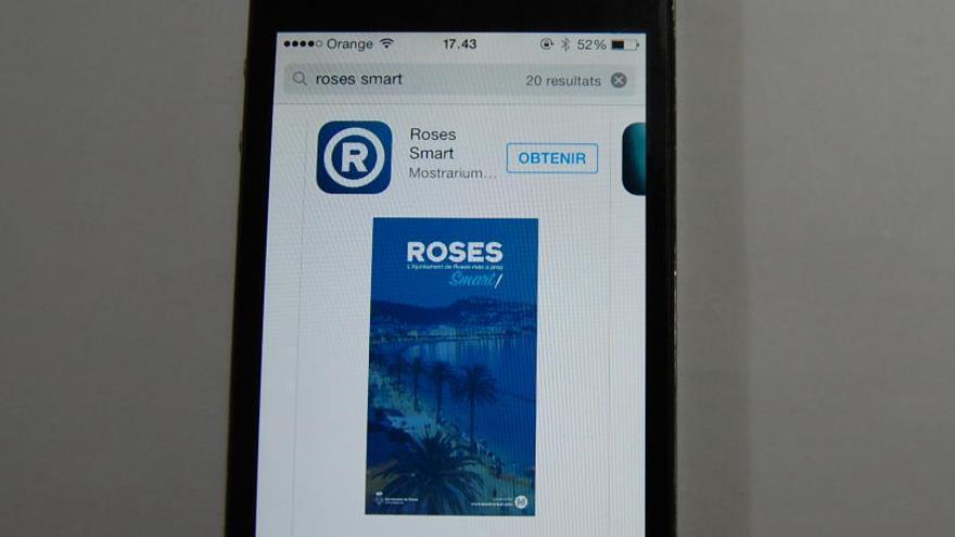 Roses activa una aplicació de servei per a dispositius mòbils