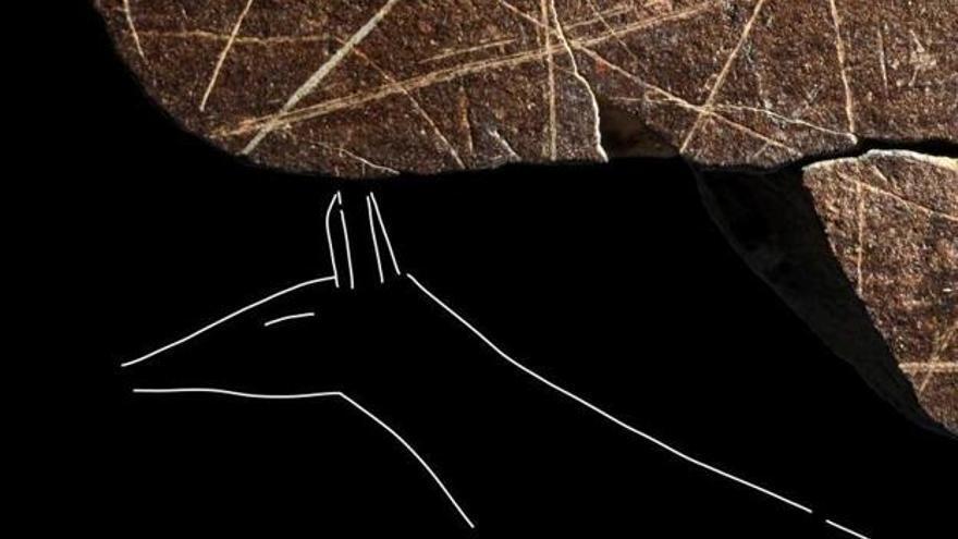 Un  hallazgo arqueológico revoluciona el arte rupestre