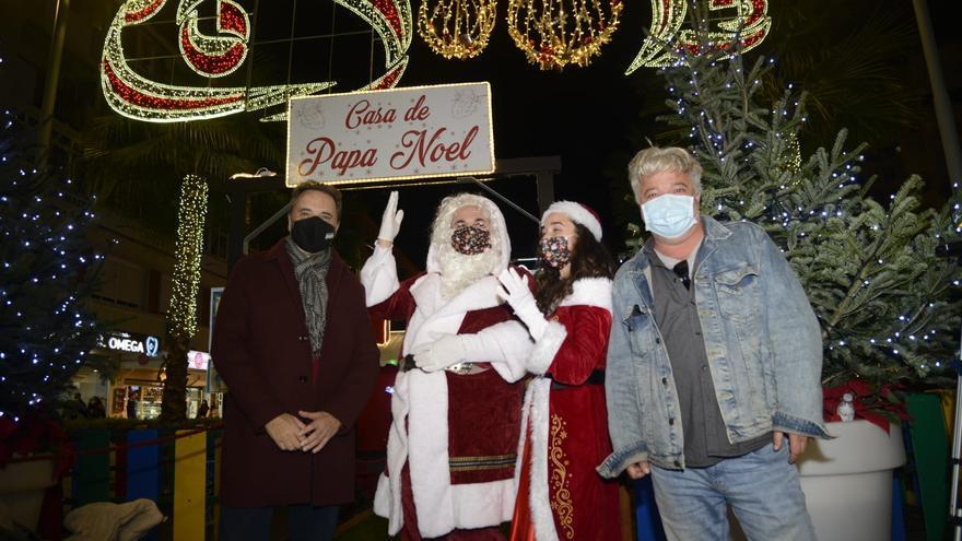 Aldea Papá Noel y cartero de los magos de oriente