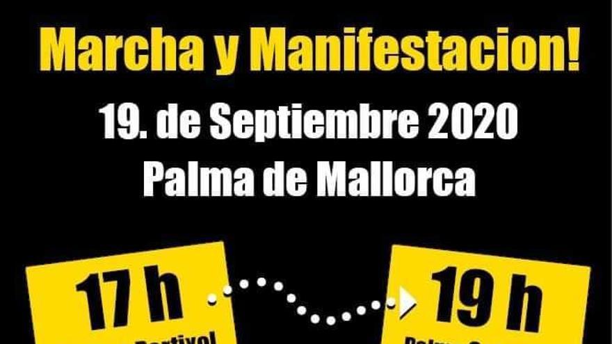 Erneut Kundgebung gegen Corona-Restriktionen in Palma geplant