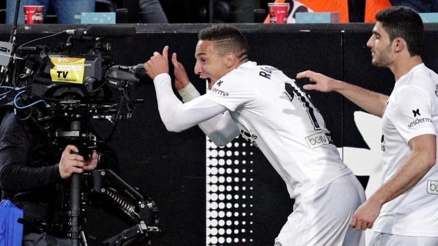 Copa del Rey: el gol de Rodrigo en el Valencia-Betis (1-0)