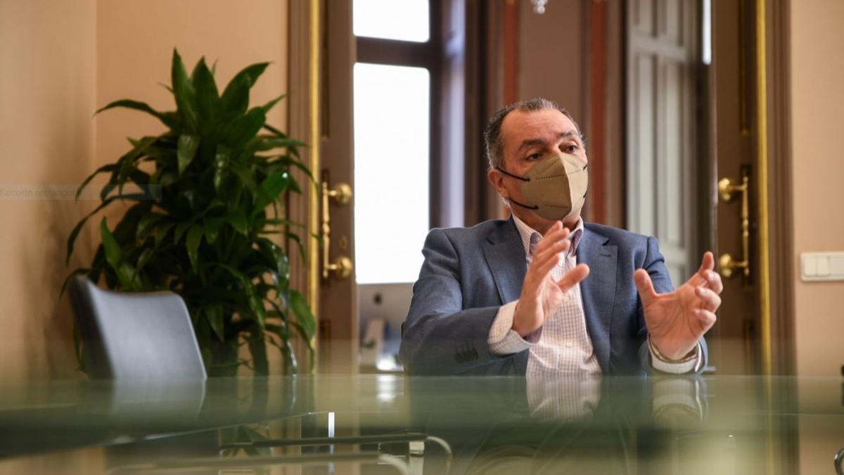 Salvador Navarro, presidente de la Confederación de Empresarios de la Comunitat (CEV)
