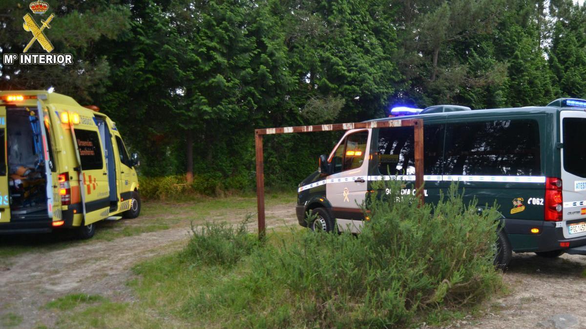 Grave un niño de ocho años que pilotaba una moto en Vigo