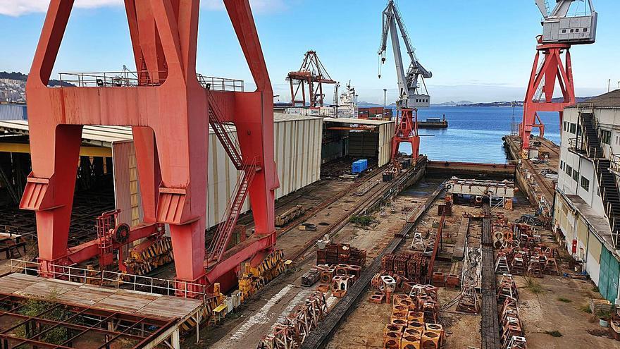 Trimestre en blanco para el naval gallego