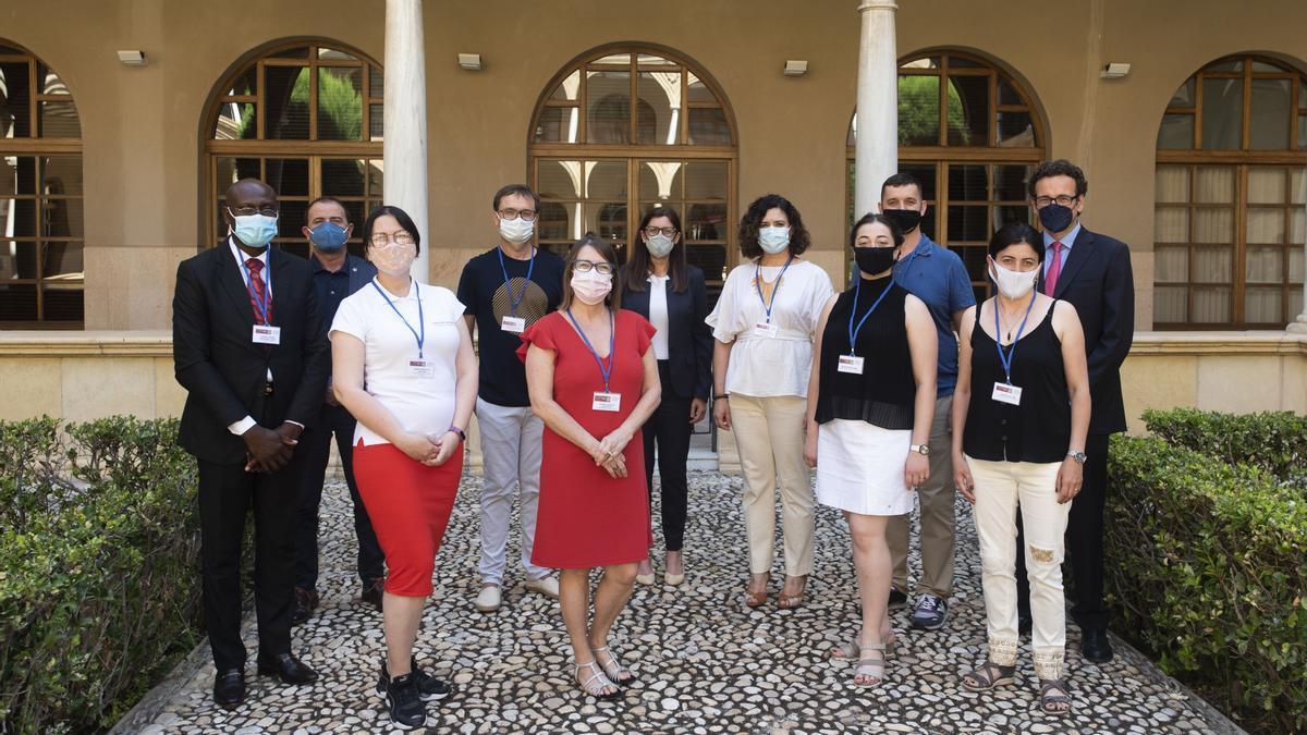La UMU acoge a personal de diversas universidades internacionales durante esta semana