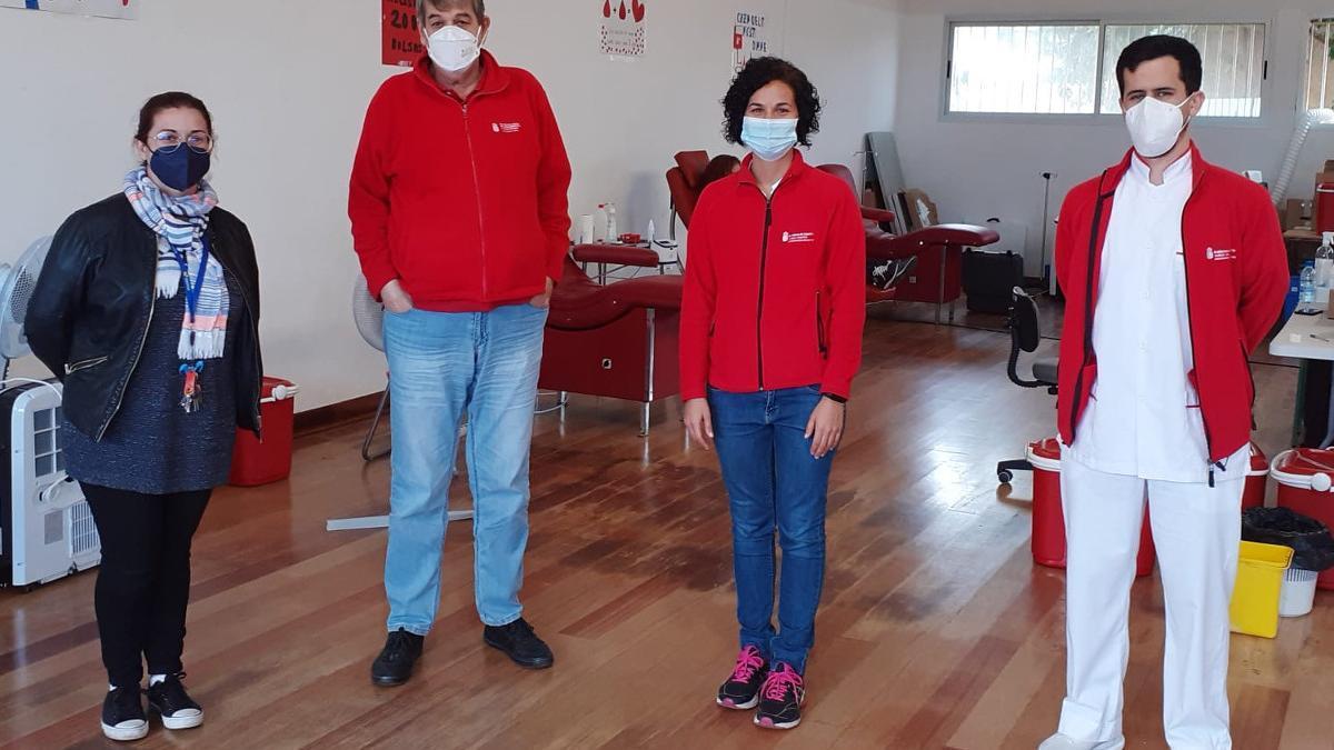 ICHH blood donation campaign with IES Professor Antonio Cabrera Pérez
