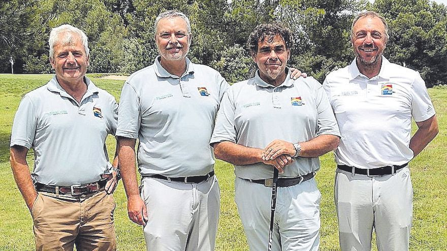 Construcciones Miguel Riera vence en la II Prueba Circuito Hexagonal de golf
