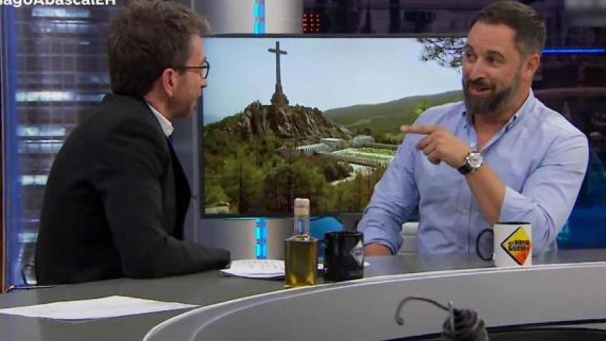 """Pablo Motos confiesa cómo vivió su entrevista con Abascal: """"Parecía un duelo, se cortaba la tensión"""""""