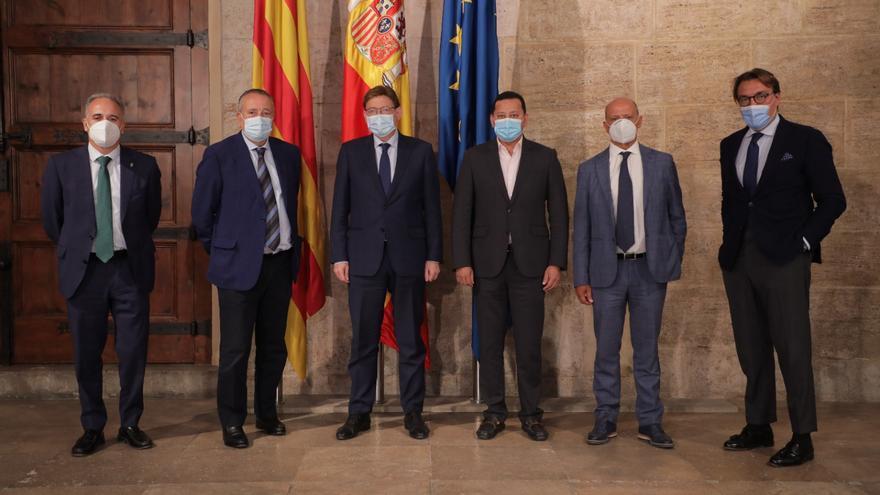 La Generalitat y los clubes de LaLiga crean una comisión de los aforos en estadios