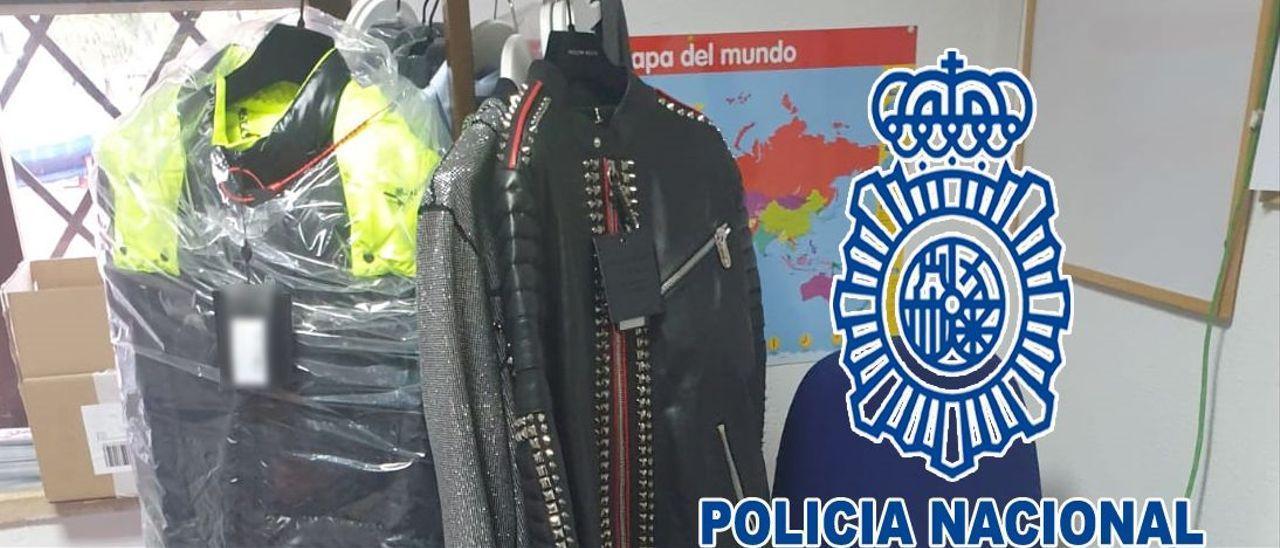 Artículos comprados por el camarero detenido por la Policía en Dénia. .