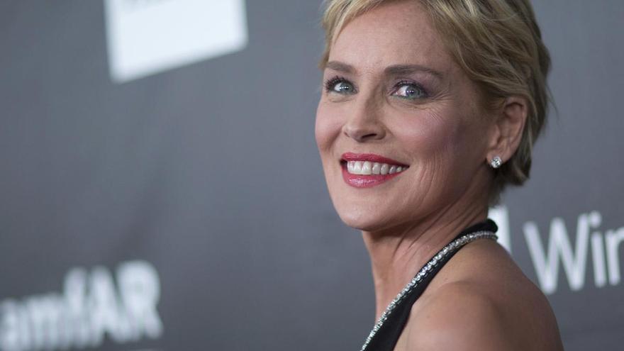 Sharon Stone, fulminada por un rayo en su casa