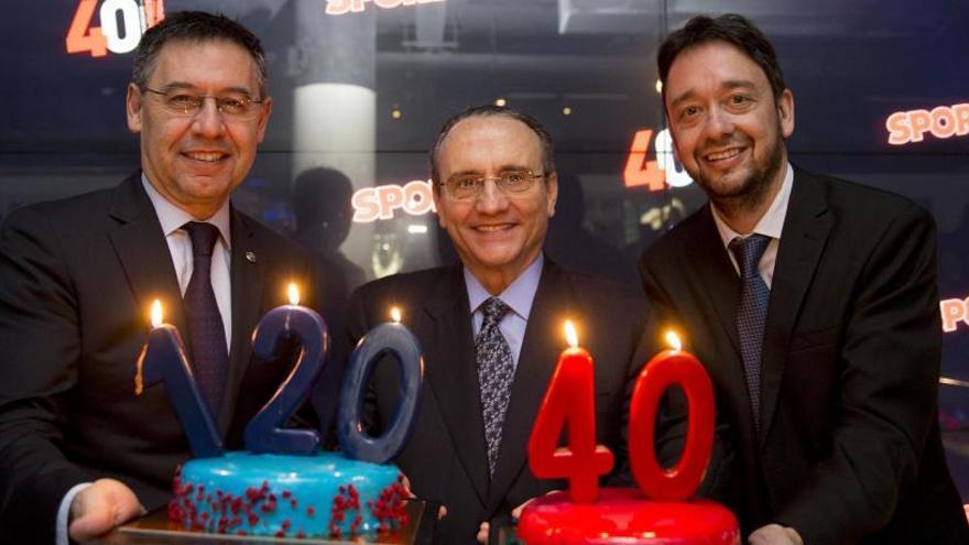 El diario SPORT celebra su 40 aniversario en Barcelona