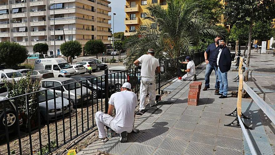 Obras para mejorar la seguridad en San Pedro Alcántara