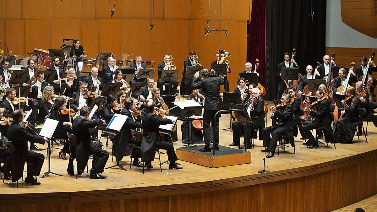 Concierto de la Sinfónica en el Palacio de la Ópera. |   // MIGUEL MIRAMONTES/ROLLER AGENCIA