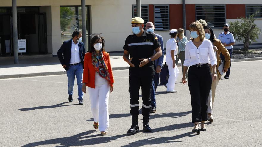 Margarita Robles visita este lunes El BIEM IV de la UME y el Grupo 43, en la Base Aérea de Zaragoza