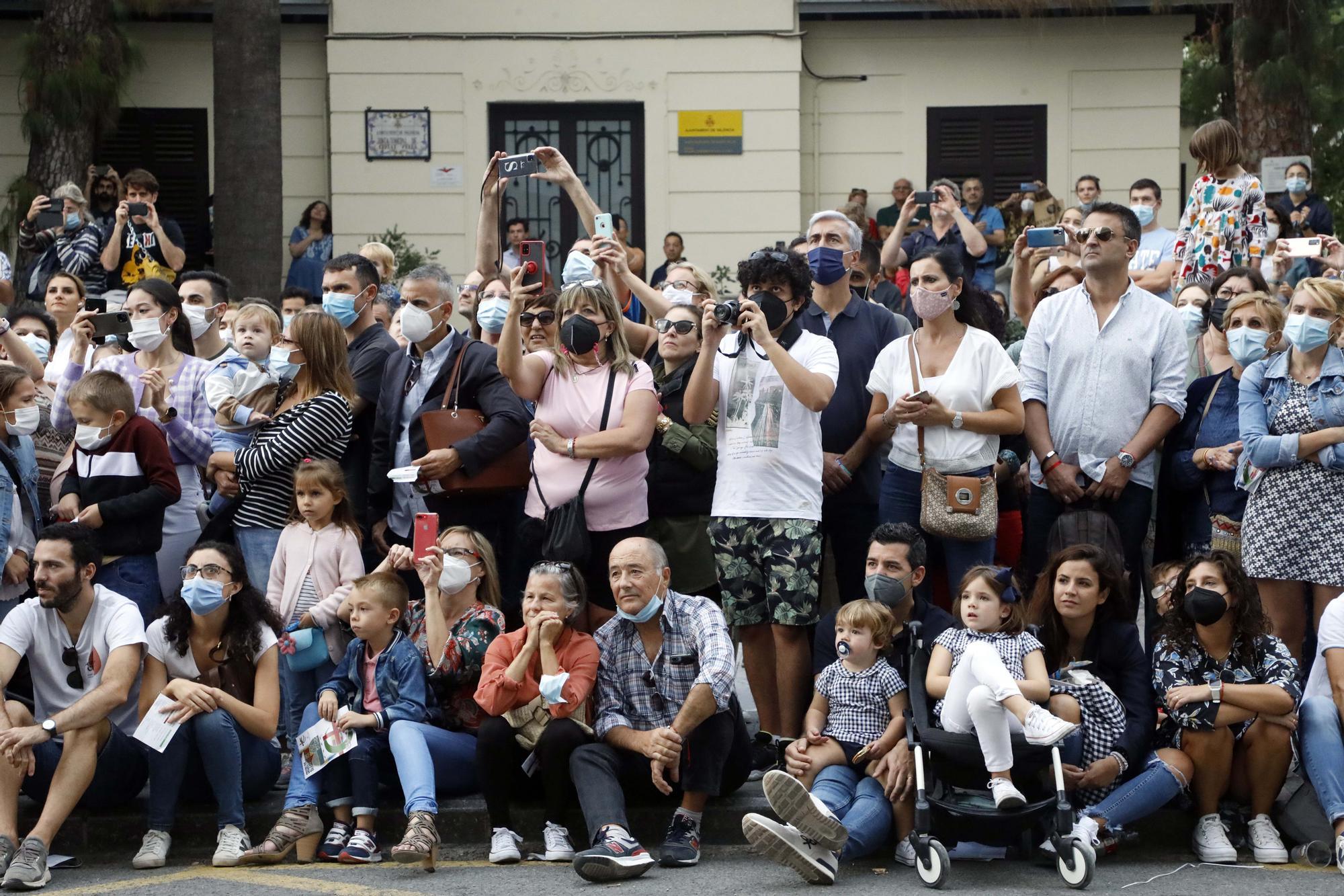 Las fotos del desfile de Moros y Cristianos en València