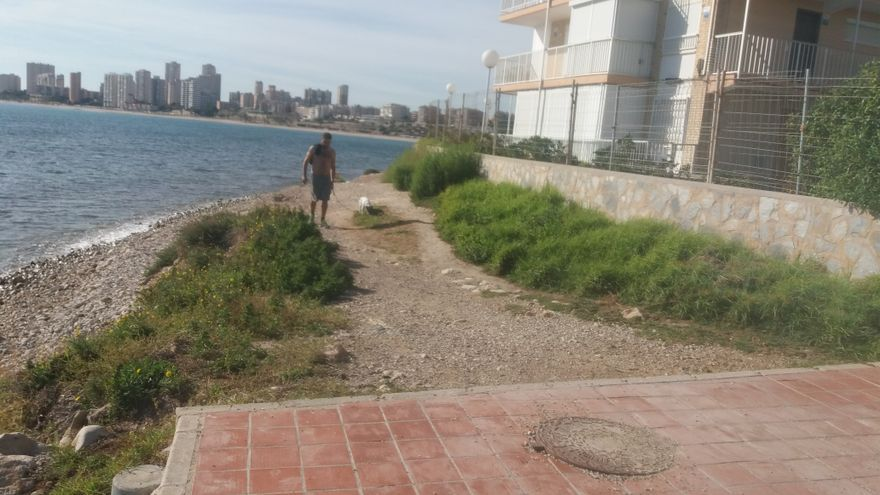 El Gobierno invertirá 860.000 € en la restauración del frente litoral entre Muchavista y el río Seco