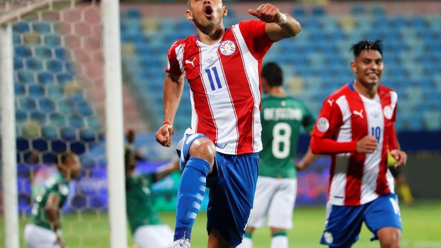 Ángel Romero pone a Paraguay en la cima del Grupo A de la Copa América