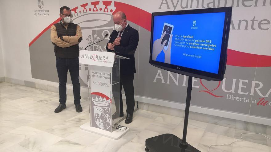 El Ayuntamiento de Antequera destina 5 viviendas del camino de la Campsa para colectivos sociales