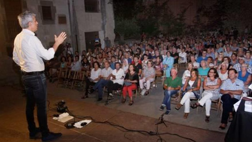 El pregó d'Albert Om obre la festa major d'estiu de Calonge