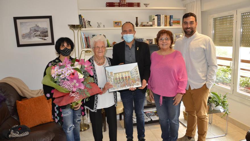 Roser Cots Prat celebra el seu centenari