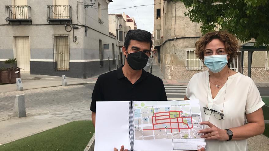 Bigastro presenta un proyecto de dinamización y peatonalización del casco urbano que necesita 1,2 millones de fondos europeos