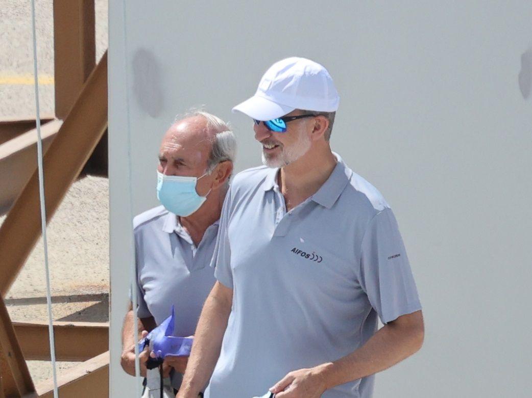 El rey Felipe VI inaugura la temporada de navegación en Mallorca