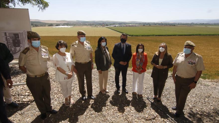 El Ejército de Tierra prevé empezar a edificar la base logística de Córdoba en 2023