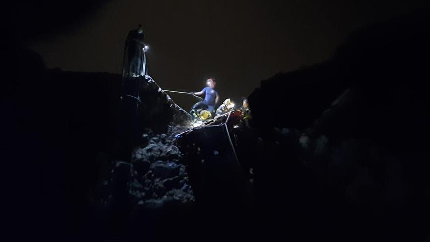 La bloguera rescatada en el barranco de Las Vacas pasó nueve horas herida bajo 30 grados y sin agua