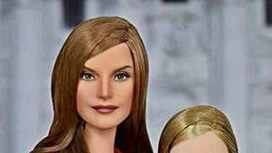 La infanta Leonor ya tiene una muñeca con su imagen