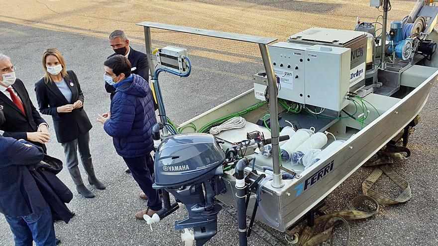 Industrias Ferri exhibe su pericia en drones marinos