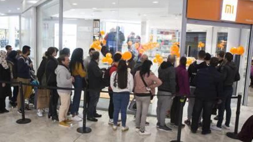 Xiaomi inaugura tienda en el Gran Vía de Alicante
