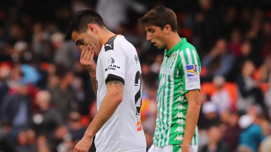 El dedo de Maxi rompe al Valencia