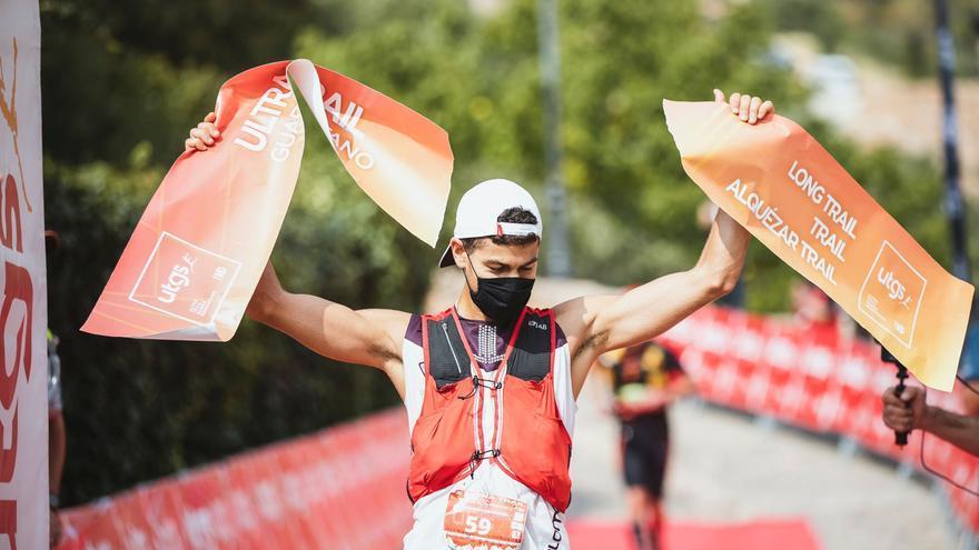 Alejandro Mayor y Myrvete Zekaj triunfan en la Ultra Trail Guara Somontano