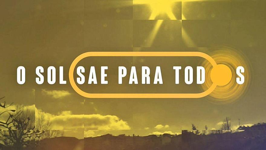 TVG estrena 'O sol sae para todos', de actualidad sobre la desescalada