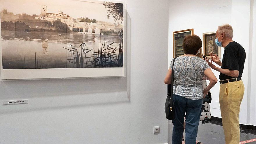 """Últimos días para disfrutar en Zamora de """"Fondo de arte"""" en Espacio 36"""
