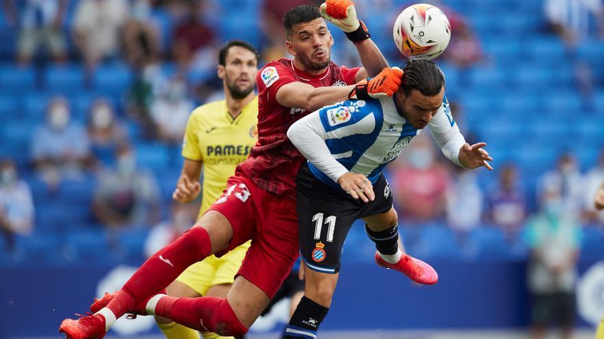 Un espeso Villarreal no aprovecha las suyas y no pasa del empate ante el Espanyol (0-0)